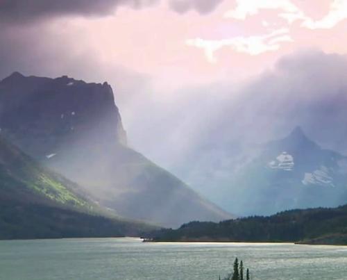 Beautiful view of lake
