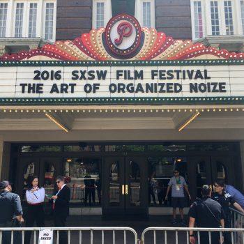 Film premiere at SXSW